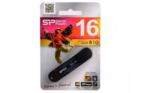 USB флешка Silicon Power Blaze B10 16GB (SP016GBUF3B10V1B) Флешки