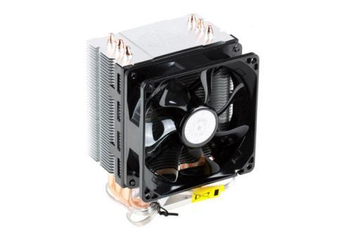 Кулер для процессора Cooler Master Hyper TX3 EVO (RR-TX3E-22PK-R1) 1366/1156/1150/1155/775/FM1/AM3+/AM3/AM2 fan 9 cm, 800-2200 RPM, PWM, 43 CFM, TPD 140W Системы охлаждения