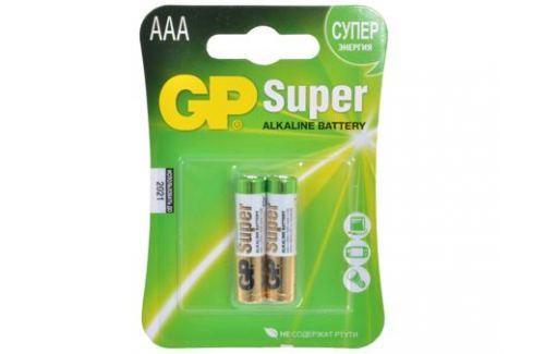 Батарея GP 24A 2шт. Super Alkaline (AAA) Зарядные устройства и аккумуляторы