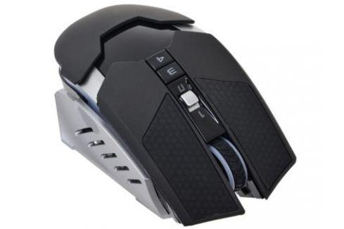 Мышь A4-Tech Bloody RT5 Warrior черный/серый Беспроводная (4000dpi) USB игровая (9кнопок) Мыши