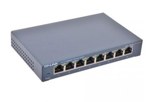 Коммутатор TP-LINK TL-SG108 Сетевые адаптеры/ Хабы/роутеры/маршрутизаторы/коммутаторы