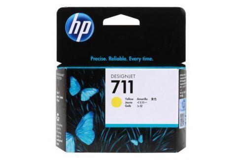 Картридж HP 711 с желтыми чернилами 29мл CZ132A Картриджи и расходные материалы