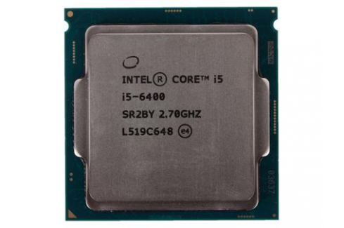 Процессор Intel Core i5-6400 OEM (TPD 65W, 4/4, Base 2.7GHz - Turbo 3.3 GHz, 6Mb, LGA1151 (Skylake)) Процессоры