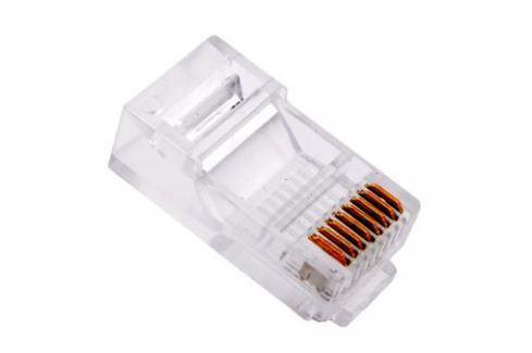 Коннекторы RJ-45 (8P8C) для UTP кабеля 5 кат. Aopen (ANM005)\VCOM (VNA2200) 100 шт в пакете Аксессуары