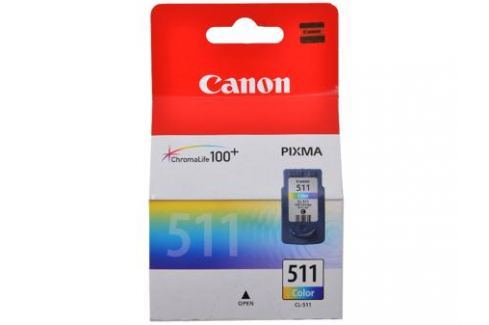 Картридж Canon CL-511 для PIXMA MP260. Цветной. 244 страницы. Картриджи и расходные материалы