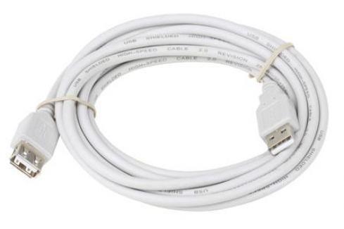 Кабель-удлинитель Telecom (VUS6956T-3MTBO), USB 2.0 AM/AF 3 м, белый Кабели и переходники
