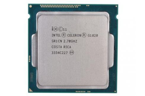 Процессор Intel Celeron G1820 OEM TPD 53W, 2/2, Base 2.70GHz, 2Mb, LGA1150(Haswell) Процессоры