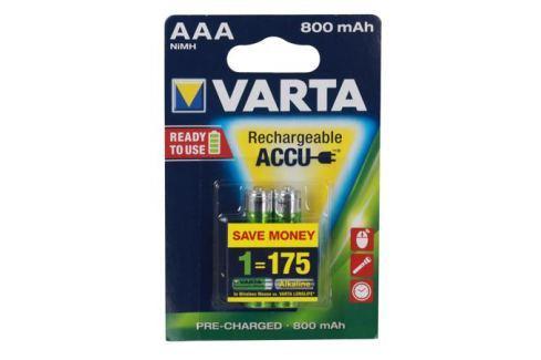 Аккумулятор VARTA Ready2Use AAA 800 мА-ч бл 2 56703101402 Зарядные устройства и аккумуляторы