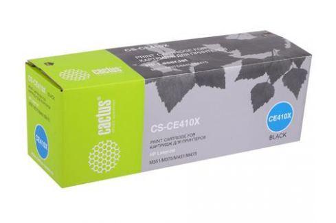 Картридж Cactus CS-CE410X для HP CLJ Pro 300 Color M351 /Pro 400 Color M451 черный 4000стр Картриджи и расходные материалы