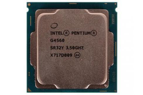 Процессор Intel Pentium G4560 OEM TPD 54W, 2/4, Base 3.5GHz, 3Mb, LGA1151 (Kaby Lake) Процессоры