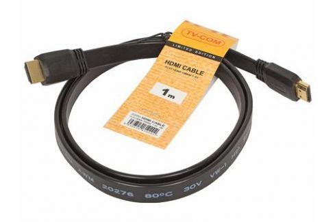 Кабель HDMI TV-COM 19M/M 1.4V плоский 1m (CG200F-1M) Кабели и переходники