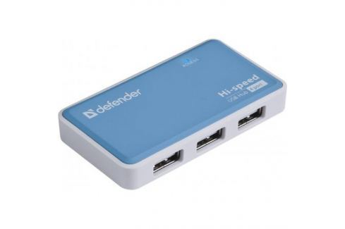 Концентратор USB 2.0 Defender QUADRO POWER (4 порта, БП) Контроллеры