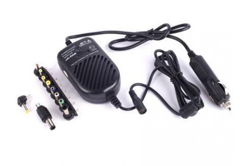 Универсальный адаптер питания для ноутбуков Jet.A JA-PA5 80Вт miniPower от прикуривателя авто Аксессуары