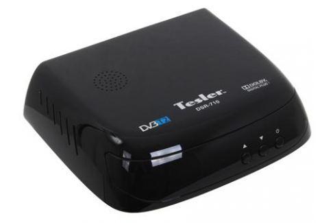 Цифровой телевизионный DVB-T2 ресивер TESLER DSR-710 Цифровое телевидение DVB-T