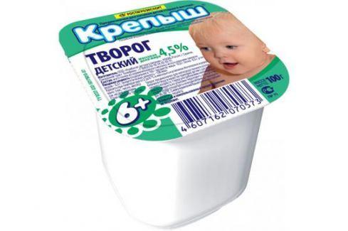 Творог Крепыш 4,5% с 6 мес. 100 г Творог
