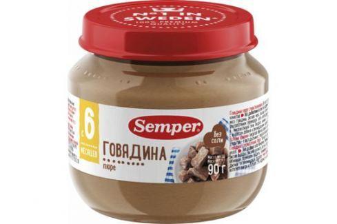 Пюре Semper Говядина с 6 мес. 90 г Пюре мясное