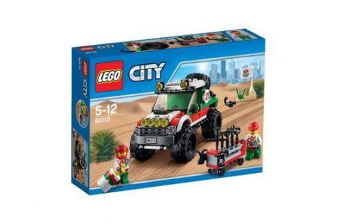 Конструктор LEGO City 60115 Внедорожник 4x4 LEGO City