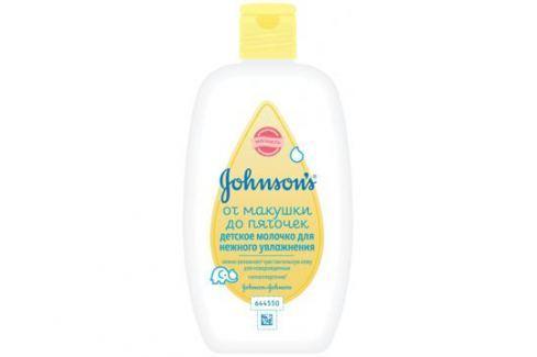 Молочко для новорожденных Johnson's baby «Бережный уход» 200 мл Детское масло и молочко