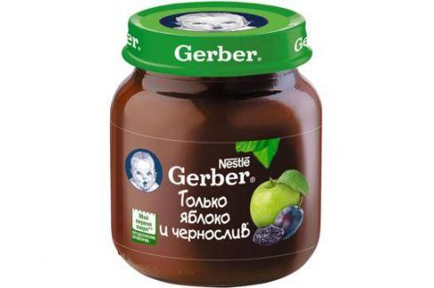 Пюре Gerber Яблоко и чернослив с 5 мес. 130 г Пюре фруктовое