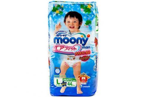 Трусики-подгузники Moony Man L (9-14 кг) 44 шт. Moony