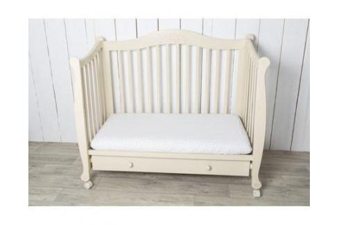 Комплект простыней Li-Ly на резинке 2 шт. горох/розовый Детское постельное бельё