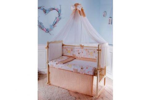Комплект в кроватку Луняшки «Мой зоопарк» 6 пр. бежевый Детское постельное бельё
