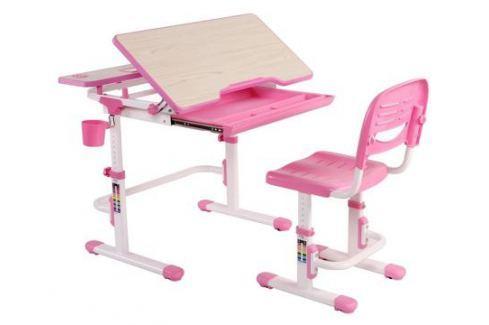 Комплект мебели FunDesk «Lavoro» розовый Доски и парты