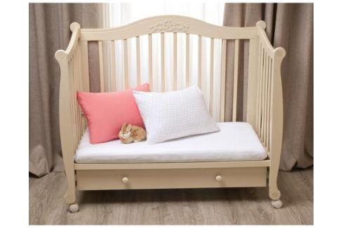 Комплект наволочек на молнии Li-Ly 60х40 см 2 шт. трикотаж горох/розовый Детское постельное бельё