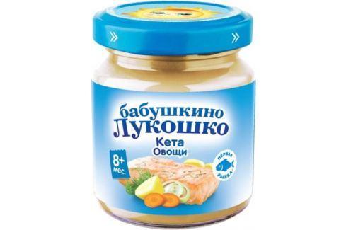 Пюре Бабушкино Лукошко «Рагу из кеты с овощами» с 8 мес. 100 г Пюре готовые обеды