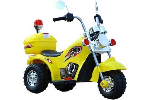 Электромотоцикл YX-995 желтый Детские электромобили