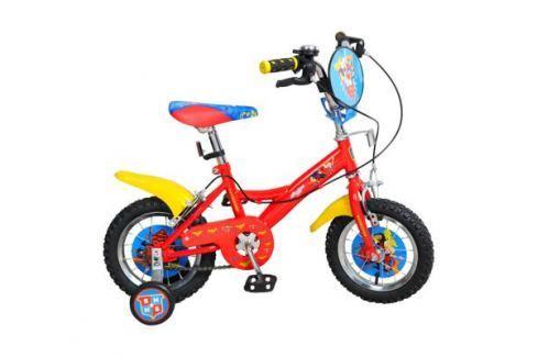 """Велосипед двухколесный Navigator «Super Hero Girls» 12"""" красный Детские велосипеды"""