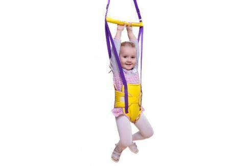 Прыгунки-тарзанка Baby boom 2 в 1 на липучке Прыгунки детские