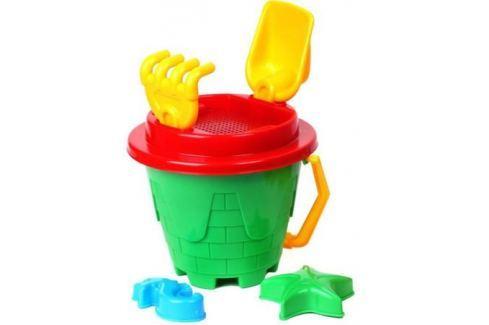 Набор для игры с песком Tehnok «Замок» в ассортименте Игрушки для песка