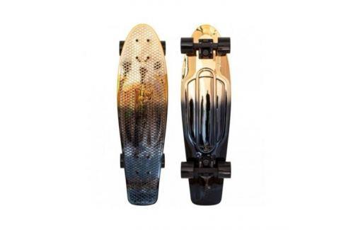 """Лонгборд Penny «Nickel 27""""» Ltd Black Gold Fade Детские ролики и скейтборды"""