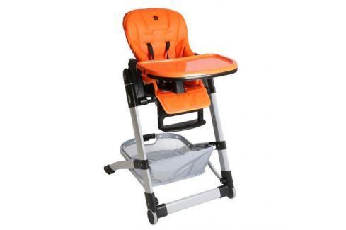 Стульчик для кормления Be2Me «Crisby» оранжевый Стульчики для кормления