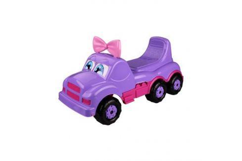 Каталка-машинка Весёлые гонки фиолетовая Детские машины/качалки и каталки