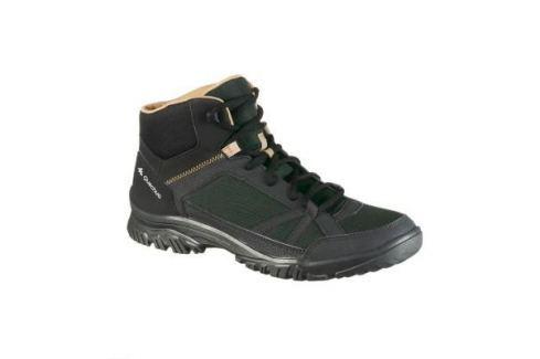 Мужские Ботинки Для Прогулок Nh100 Мужская Обувь / Прогулки На Природе