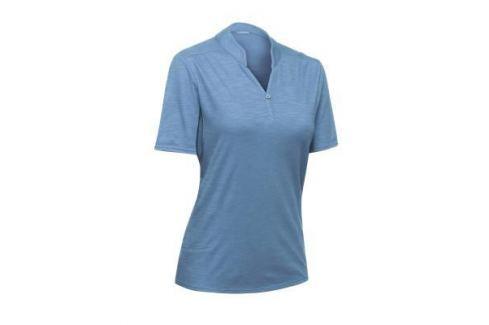Рубашка–поло Travel 100 Женская Синяя Женская Одежда Путешествия С Рюкзаком