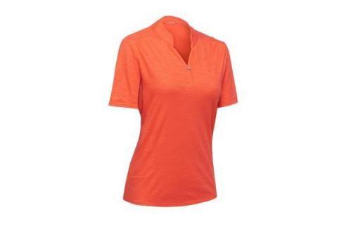 Рубашка–поло Travel 100 Женская Коралловая Женская Одежда Путешествия С Рюкзаком