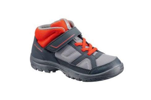 Детские Ботинки Для Походов Nн100 Mid Детские Ботинки Высокие Походные