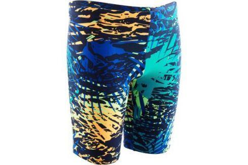Гидрошорты Для Мальчика 900 Принт Alljun Темно–синие Плавки Для Мальчиков / Плавание