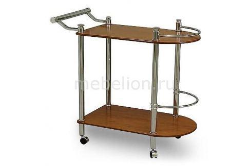 Стол сервировочный Петроторг А 1935CH хром/вишня светлая Столы сервировочные