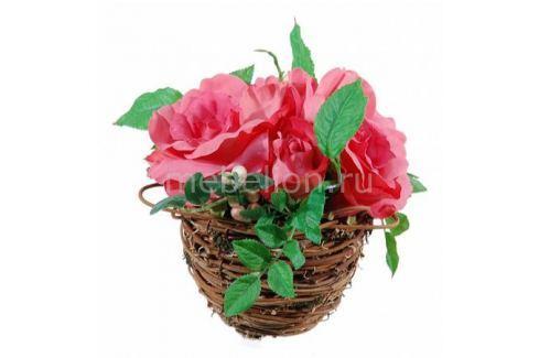 Растение в горшке Home-Religion (17 см) Розовые розы 56000100 Растения в горшке