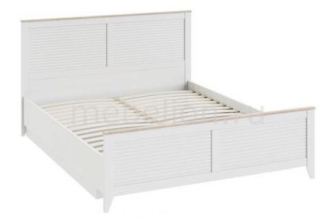 Кровать двуспальная Мебель Трия Ривьера СМ 241.01.002 Двуспальные