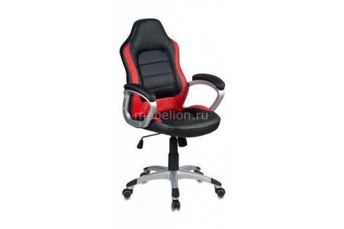 Кресло компьютерное Бюрократ Бюрократ CH-825S/Black+Rd черный/красный Игровые кресла