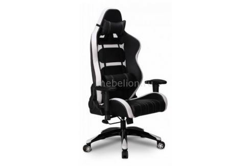 Кресло игровое Бюрократ CH-772/BLACK+WH Игровые кресла