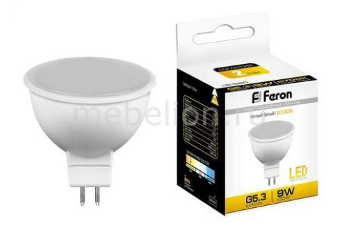 Лампа светодиодная Feron LB-560 G5.3 9Вт 220В 2700 K 25839 Лампочки