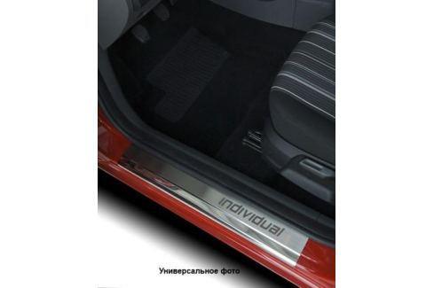 Накладки на внутренние пороги с надписью Alu-Frost 08-1773 для Mazda 3 2013-2017 3 (2013 - 2017)