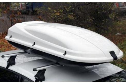 Бокс Arctic 434 (171*73*36) снежно-белый металлик, двухстороннее открывание для Mazda 3 2013-2017 3 (2013 - 2017)