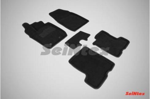 Коврики салона текстильные 3D, чёрные Seintex 87324 для LADA Vesta 2015- VESTA (2015 - по н.в.))
